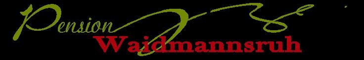 Pension Waidmannsruh Wildschönau